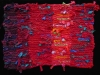 52 Red Stripes Rag Rug