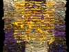 59 Floating Gold Square Rag Rug