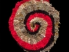 78 Red Greige Spiral
