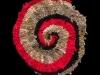 78 Red Greige Spiral