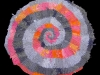 Orange and Gray Spiral