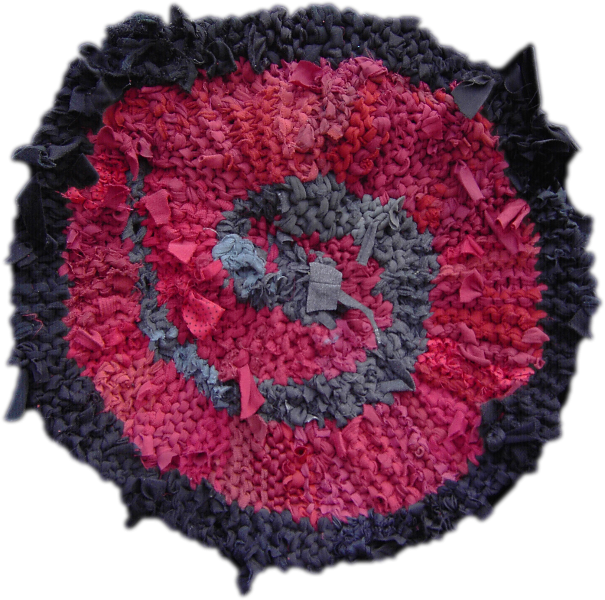 51 Red and Gray Small Spiral