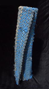 Standing rag rug