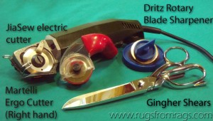Cutting tools for textile artists
