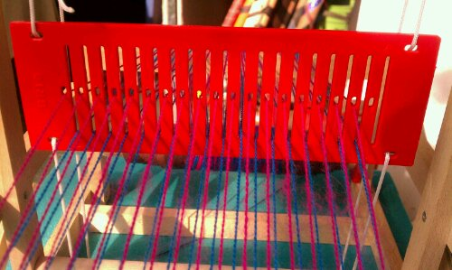 Brio loom rigid heddle