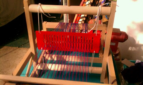 Brio rigid heddle installed