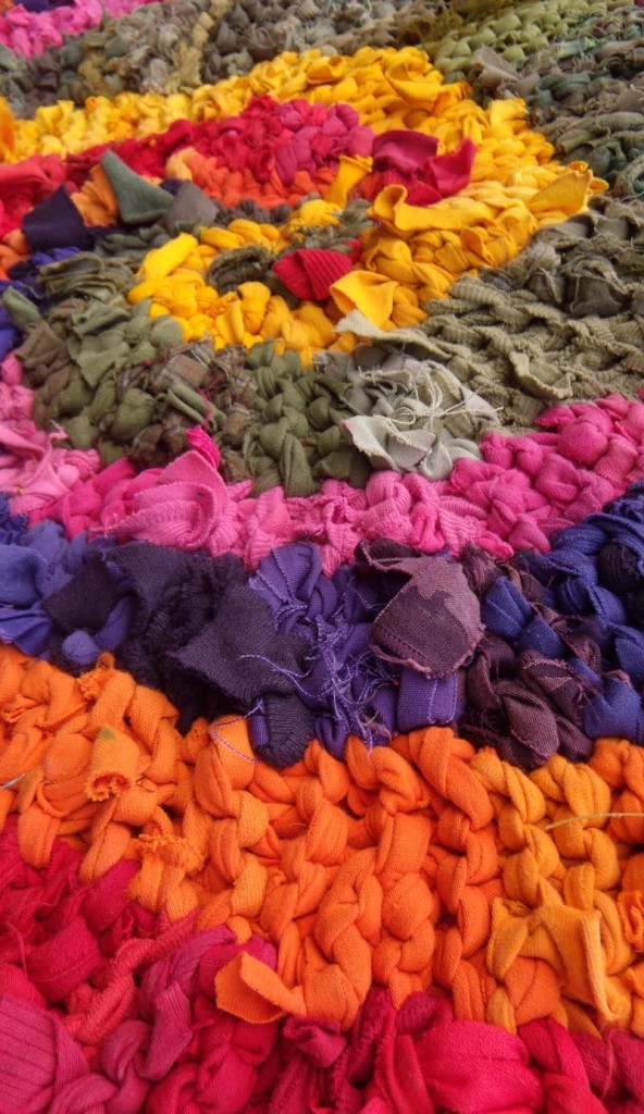 Colors of India Rag Rug
