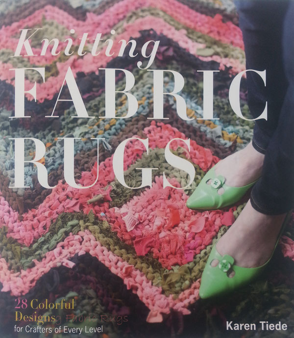 Knitted Fabric Rugs, the book