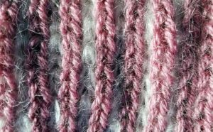 K1B Persian tapestry yarn & mohair.